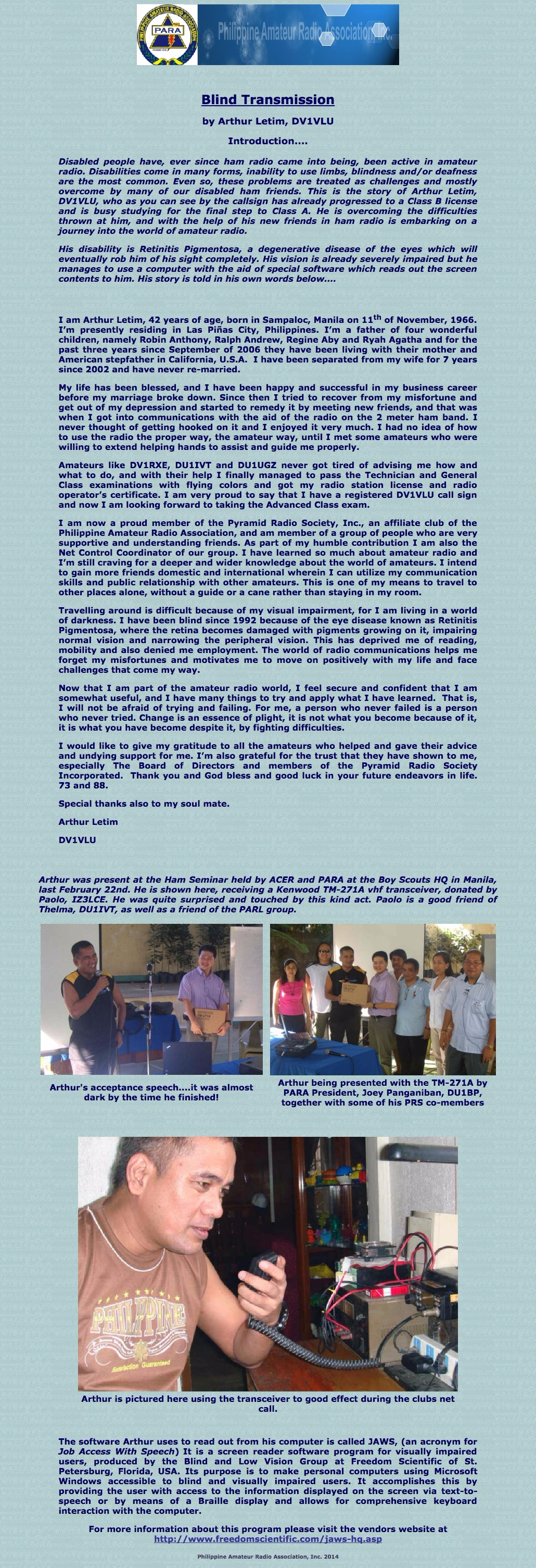 total membership philippines amateur radio association